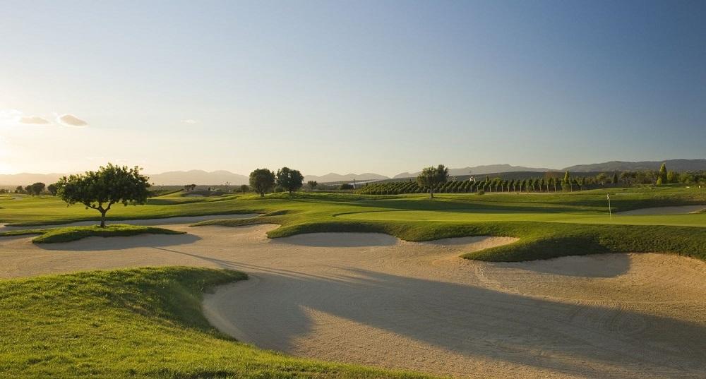Un bunker du golf de Son Gual.