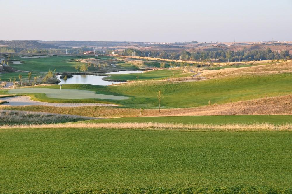 Le golf de Saldaña.