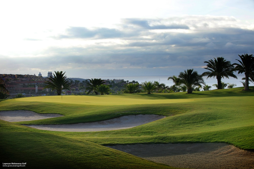 Le parcours du golf de Lopesan Meloneras.