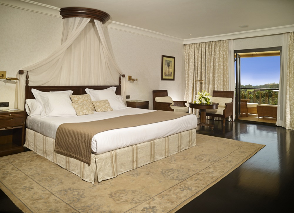 Chambre double de l'hotel Las Madrigueras