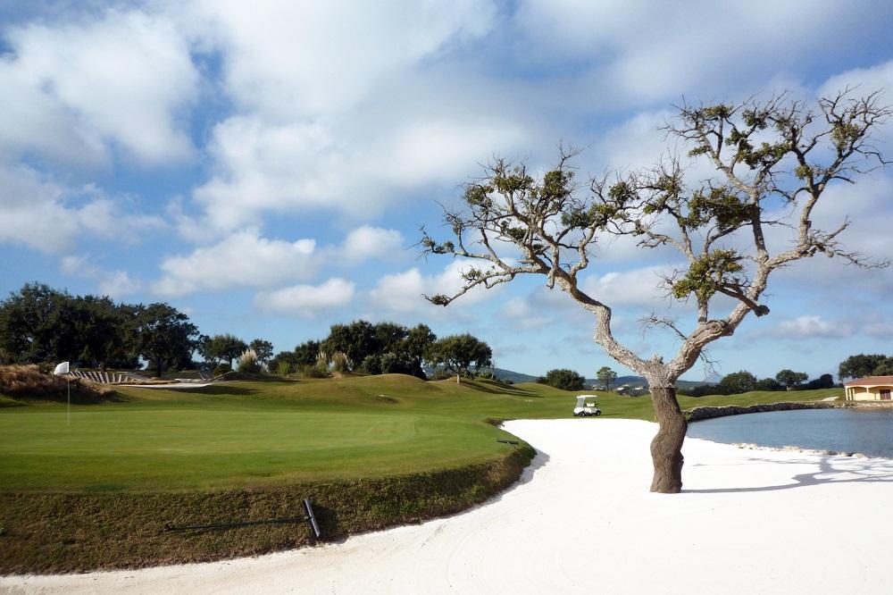 Un bunker du golf de San Roque.