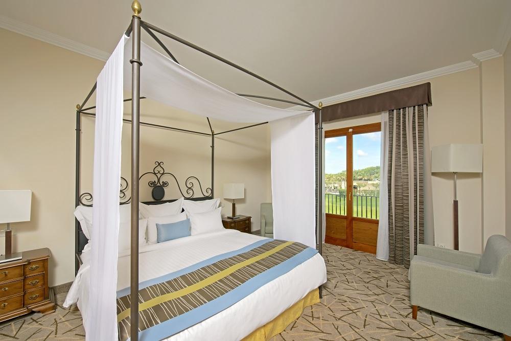 Une chambre double de l'hôtel Ibero Star.