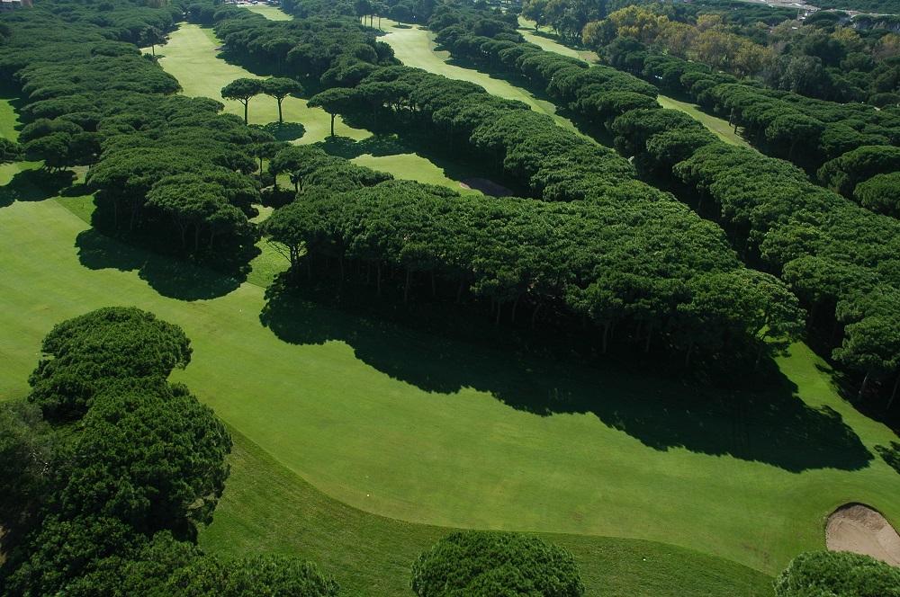 La forêt du golf le Platja de Pals.