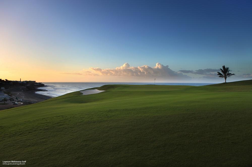 Le ciel du golf de Lopesan Meloneras.