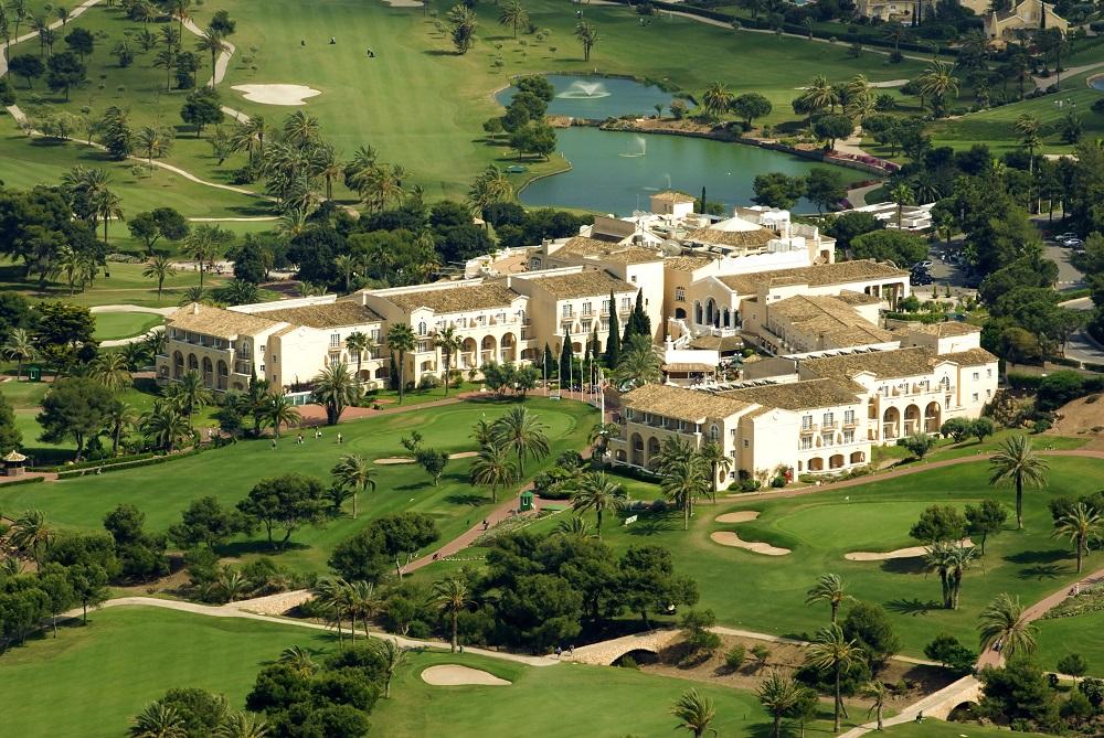 Hotel Principe Felipe sur le golf de La Manga Club