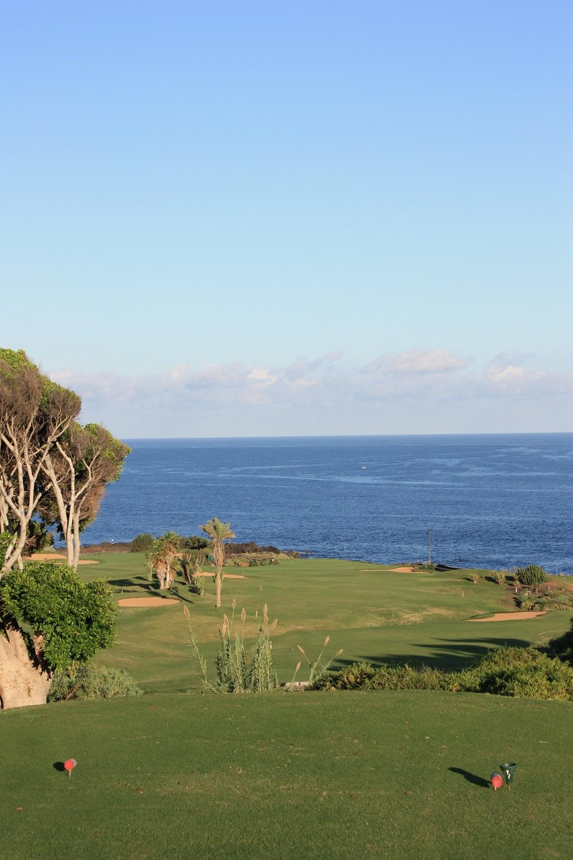 La mer depuis le golf de Buenavista.