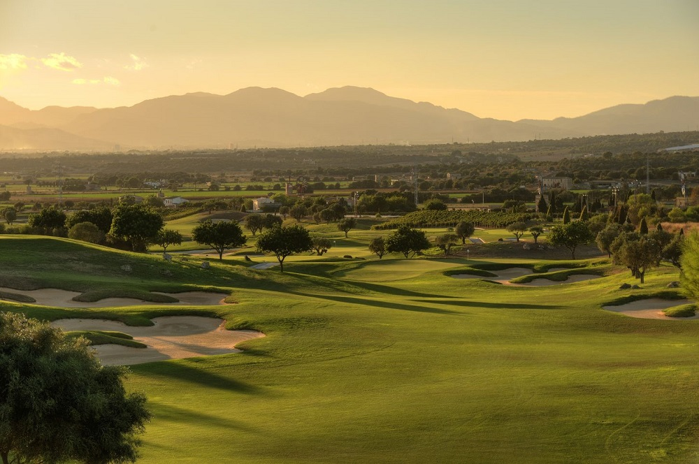 Le panorama du golf de Son Gual.