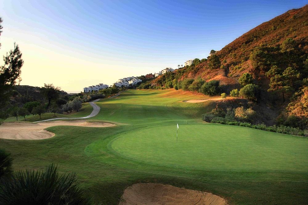Green et fairway sur le golf La Quinta