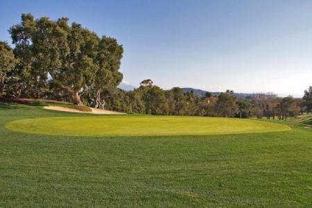 Un fairway du golf de Sotogrande.