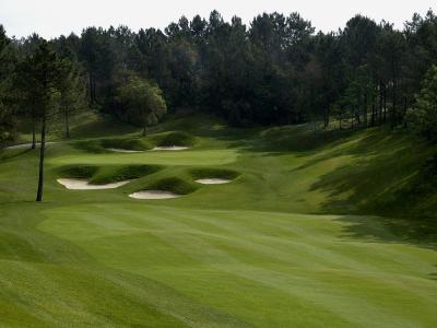 Un fairway du PGA Golf Course.