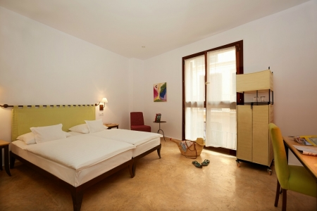 Chambre double de l'hotel Palau Sa Fonte