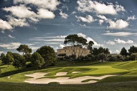 Le paysage du golf de Son Gual.