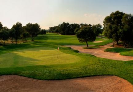 La vue du golf de Son Antem Ouest.