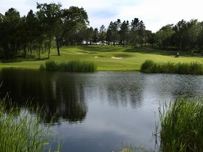 L'étang du PGA Golf Course.