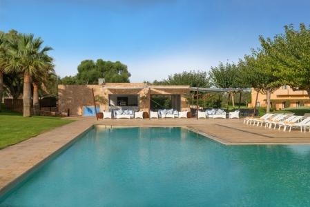 La piscine de l'hôtel Ibero Star.