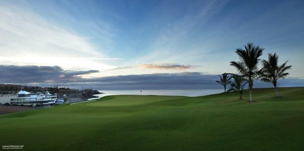Fair et green avec vue sur la mer sur le golf Lopesan