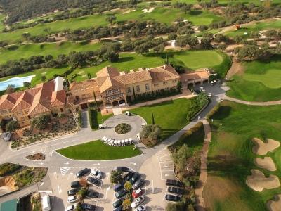 Vue aérienne du clubhouse de Real Sociedad