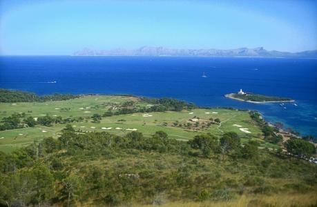 L'océan du golf d'Alcanada.