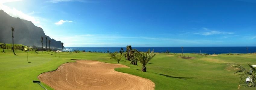 Le paysage du golf de Buenavista.
