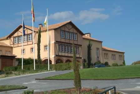 Clubhouse du golf Real Sociedad