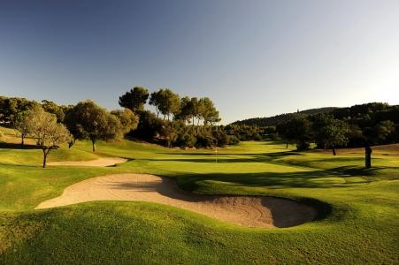 Le bunker du golf d'Arabelle Son Muntaner.