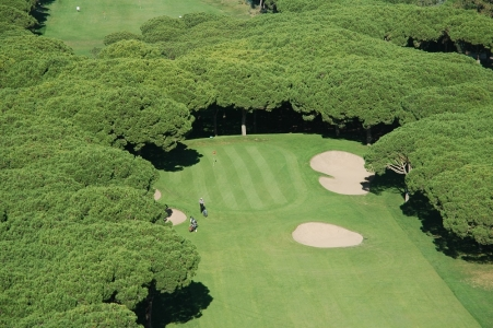 Un green du golf le Platja de Pals.