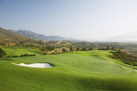 Green et fairway du golf La Cala America