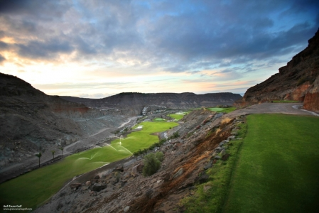 Les roches du golf d'Anfi Tauro.