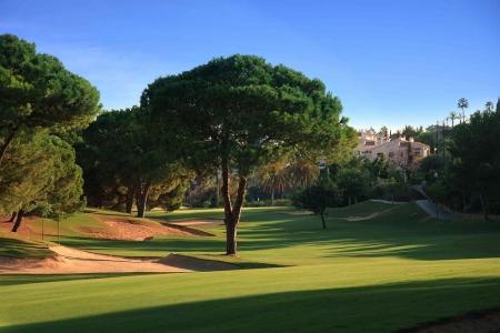 Large fairway sur le golf La Quinta