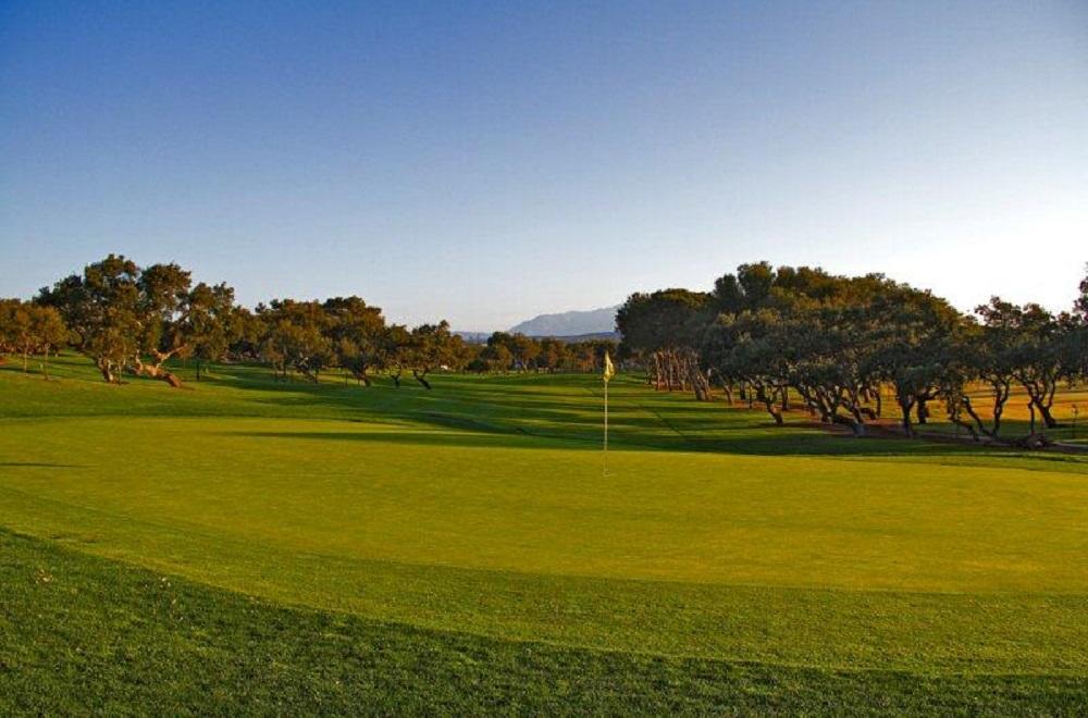Le green du golf de Sotogrande.