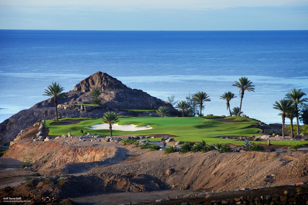 Le panorama du golf d'Anfi Tauro.