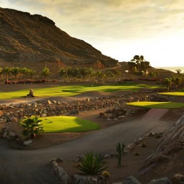 Parcours de golf de Anfi Tauro en Espagne