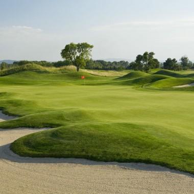 Parcours de golf d'Emporda en Espagne