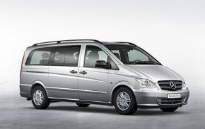 Minibus Mercedes Vito