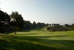 Vue sur le parcours du golf de Barcelone
