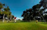 Golfeurs sur le fairway