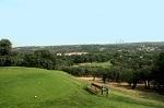 Golf Club de Campo Villa de Madrid départ et vue sur la foret