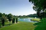 Golf de Rio Real vue sur la fontaine et le parcours